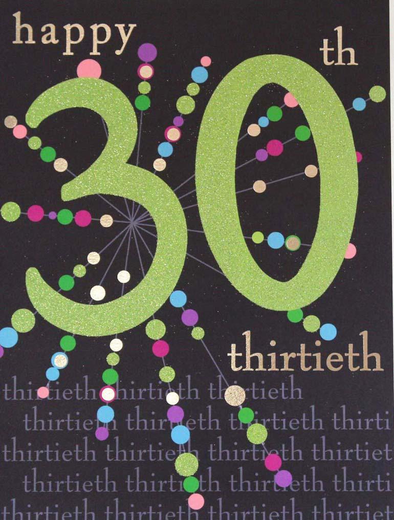 Amsbe 30 birthday cards 30th birthday card ideas 30 birthday card b bookmarktalkfo Gallery
