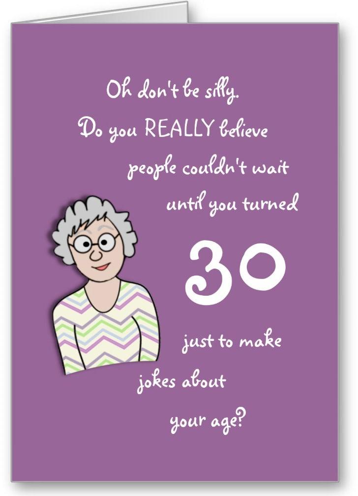 Card Making Ideas 30th Birthday Part - 21: 30th Birthday Card F