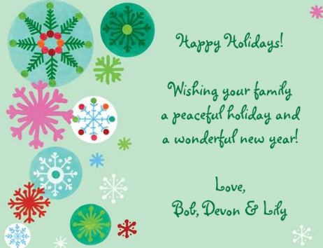 Holiday cards b