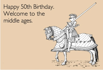 Funny 50th Birthday Cards C