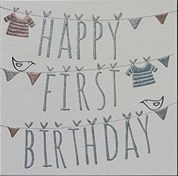 1st Birthday Cards C