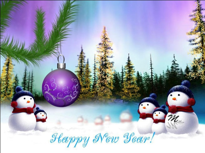 New Year Card A