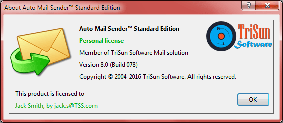 About Auto Mail Sender™ Birthday Edition