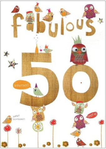 50 Birthday Cards B