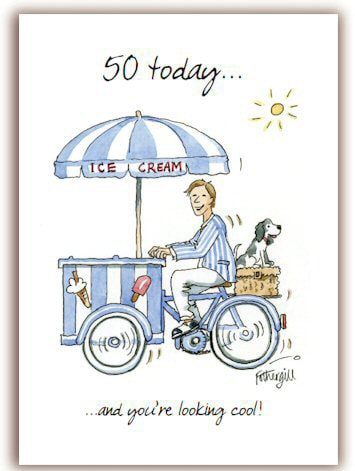 50th Birthday Cards for Men G