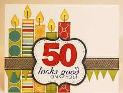 50th Birthday Card D