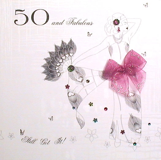 50th Birthday Cards F