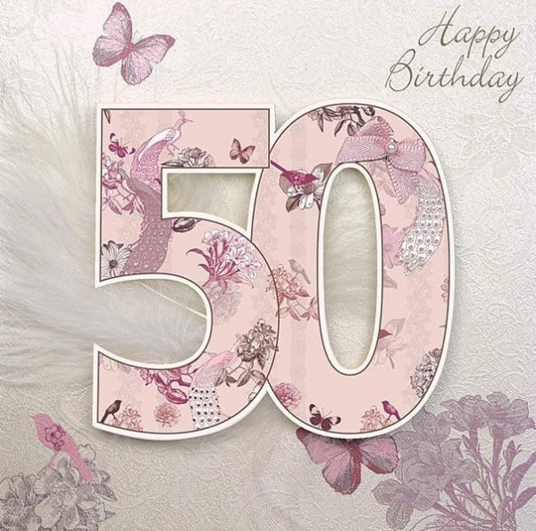 50th Birthday eCard J