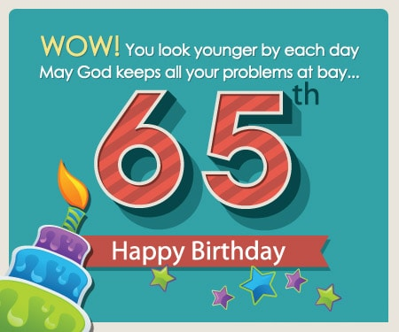 65th Birthday Cards D