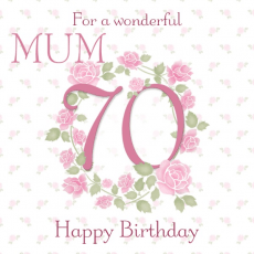 70th Birthday Cards D