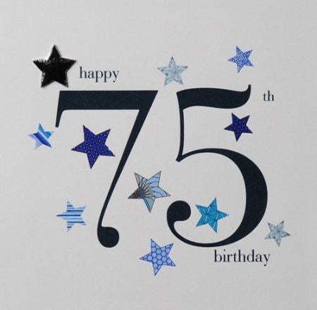 75th Birthday Cards B