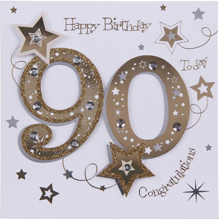 90th Birthday Cards C