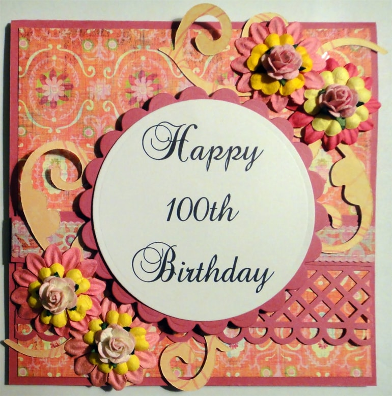 100 Birthday Card A