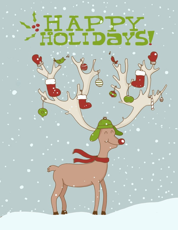 Free Holiday Cards I