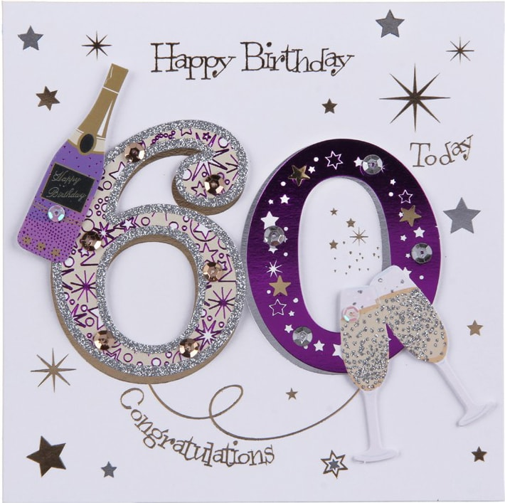 60 Birthday Cards C