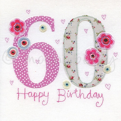 60 Birthday Cards D