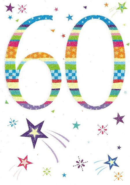 60th Birthday Cards G
