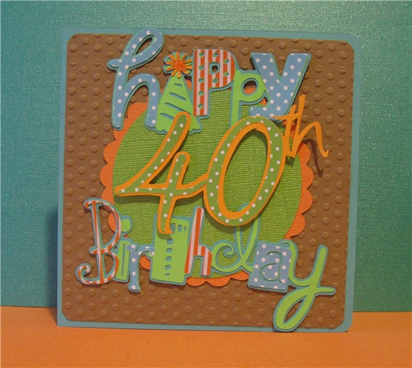 Funny 40th Birthday Card G