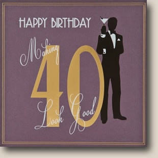 40th Birthday eCards J