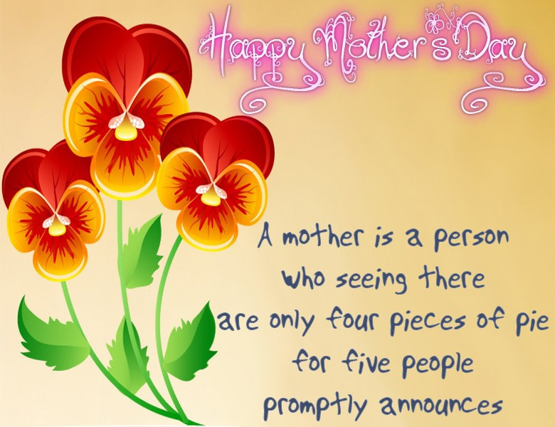 Online Mother's Day Cards I