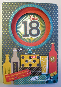 Personalised 18th Birthday Cards E