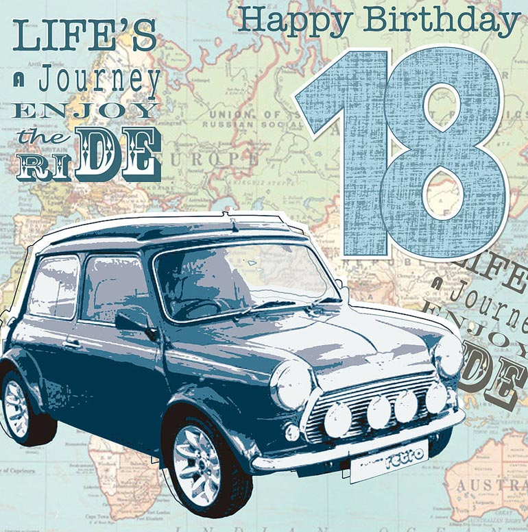 Son 18th Birthday Card G