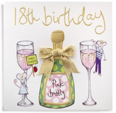 Special 18th Birthday Cards J