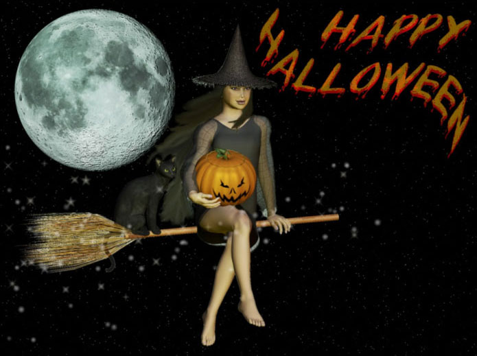 Halloween Online Greeting Cards B
